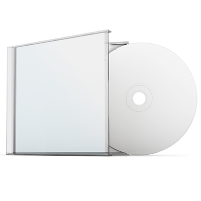 Jewel Case - Clear Tray